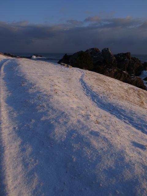 雪のグラデーション