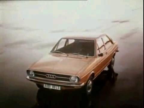 Audi 80 Reklame