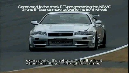 Nismo R34 Skyline GT-R Z-tune Full Test - Nismo Beast Unleas