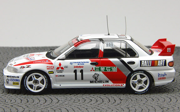 LANCER EVO3 95 Corse 4