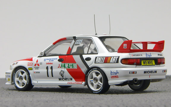 LANCER EVO3 95 Corse 3