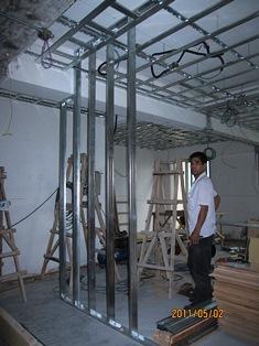 壁LGSの下地試作2