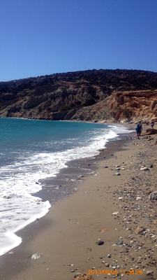 カトのビーチ南〜西側