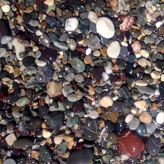 カトのビーチの石