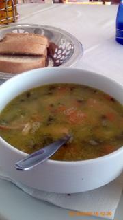シーフードスープ