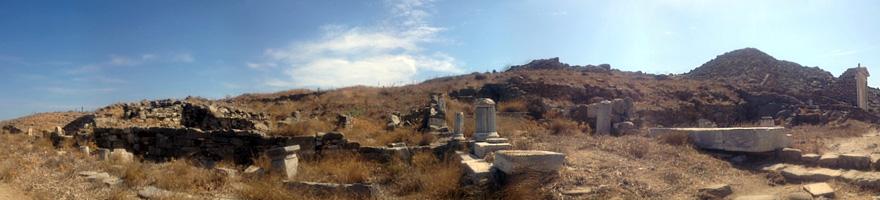 シリアの神々の聖域辺り