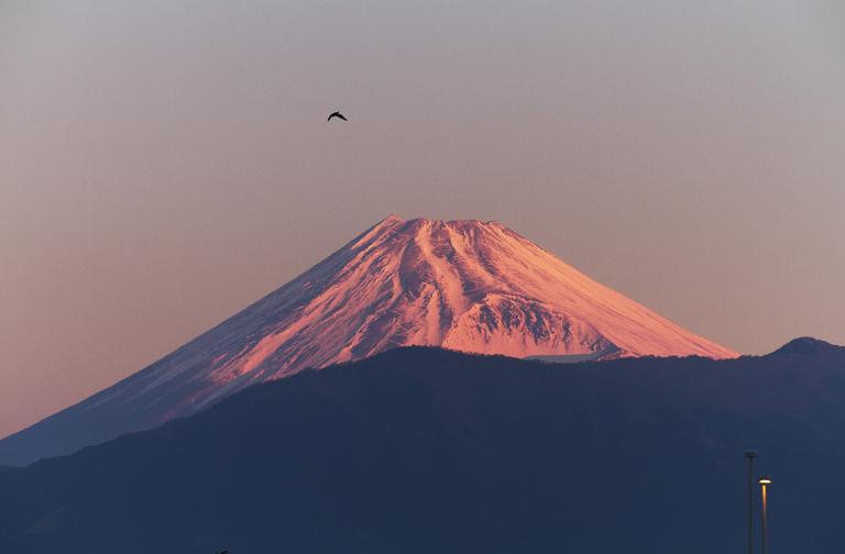 大晦日ー6ー56 狩野川の富士山-1