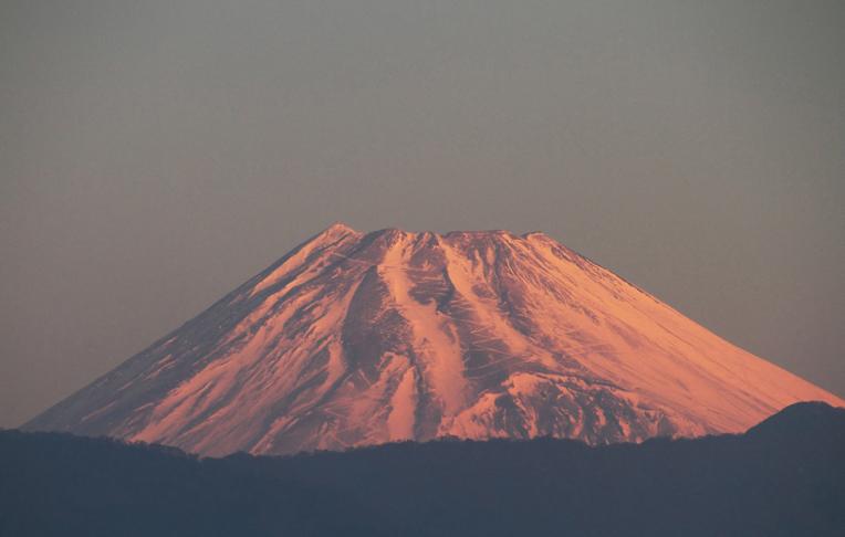 2014 元旦ー7ー01 今朝の富士山-4