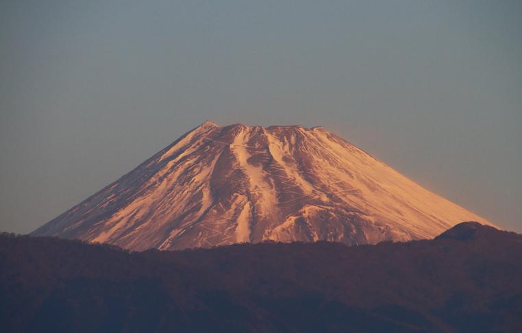 2日 7ー03 今朝の富士山