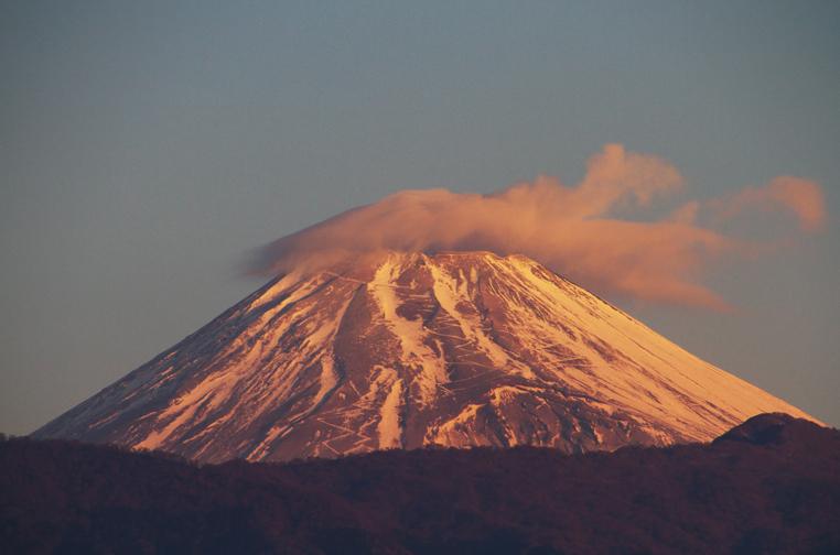 6日 7ー03 今朝の富士山