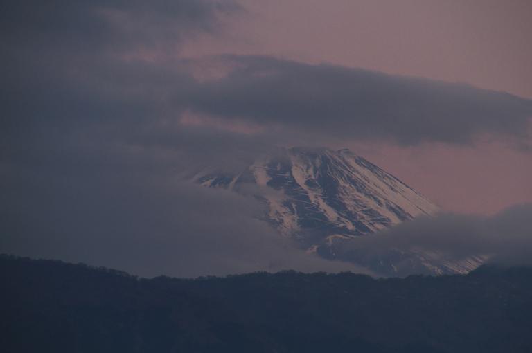 7日 7ー06 今朝の富士山