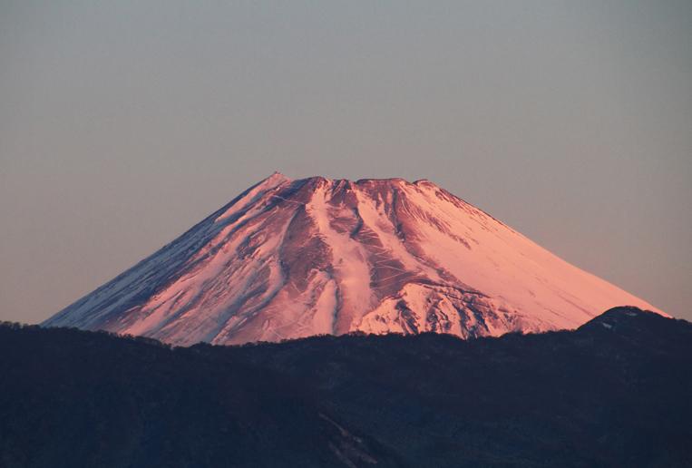 11日 6ー53 今朝の富士山-5