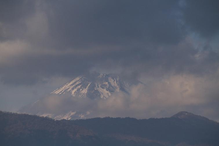12日 15ー13 今日の富士山