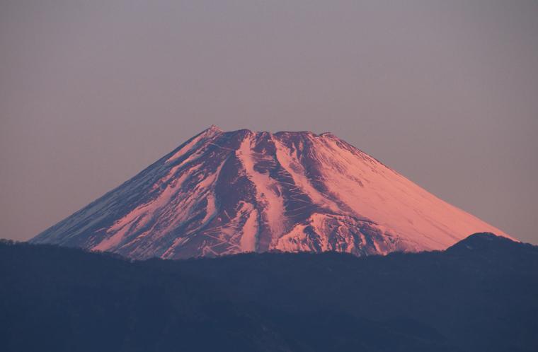 16日 6ー52 今朝の富士山-1
