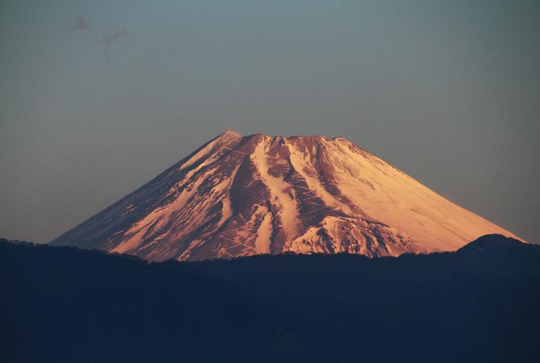19日 7ー05 今朝の富士山
