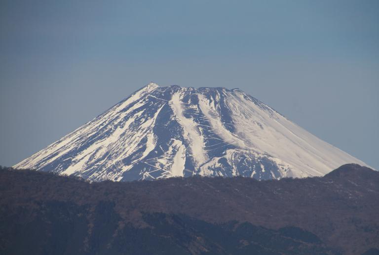 20日 13ー44 今日の富士山