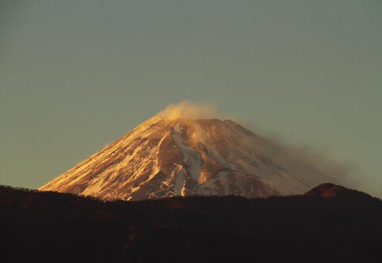 26日 16ー53 今日の富士山