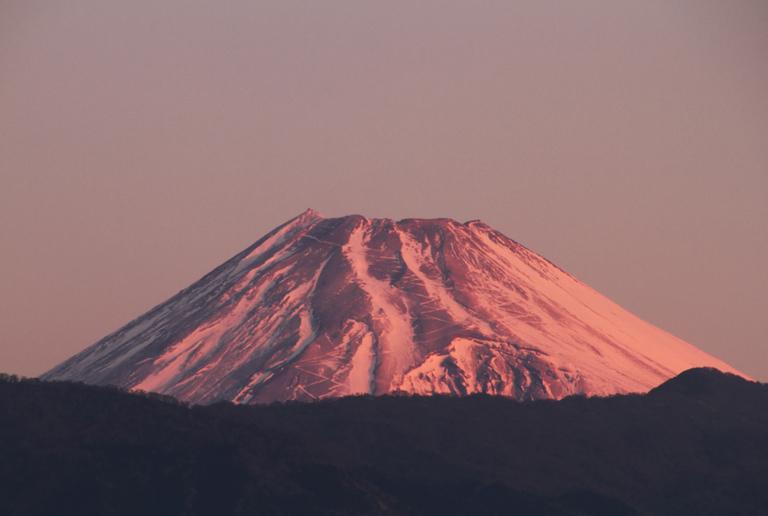 27日 6ー46 今朝の富士山