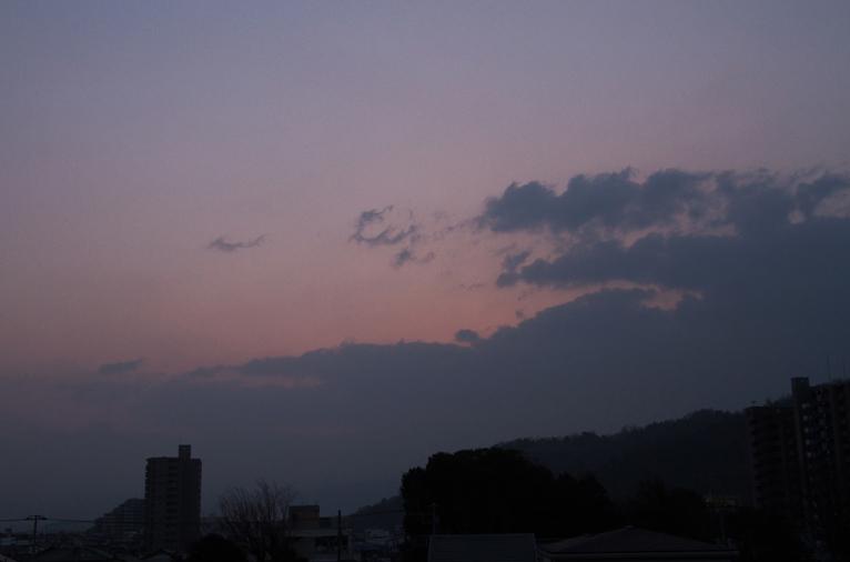 2月4日 6-50 東の空-3