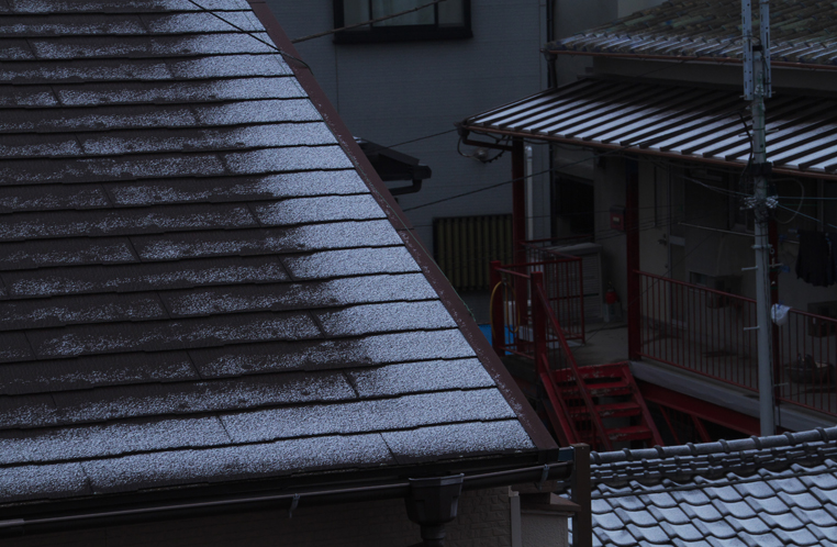 6日朝の雪-1
