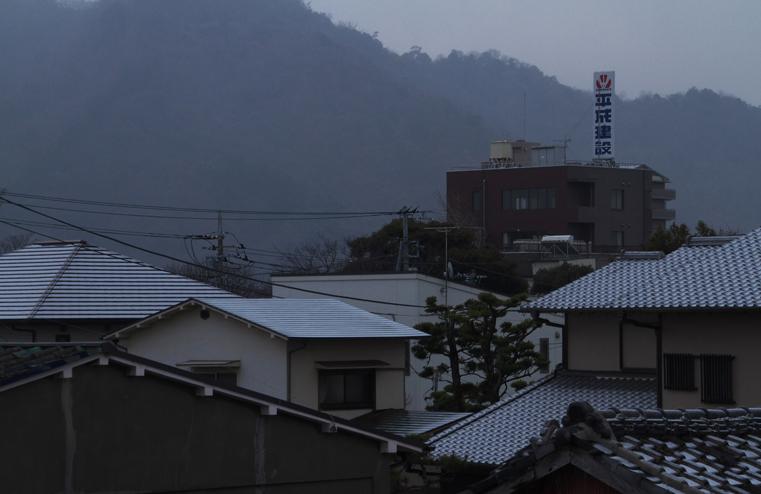 6日朝の雪-3
