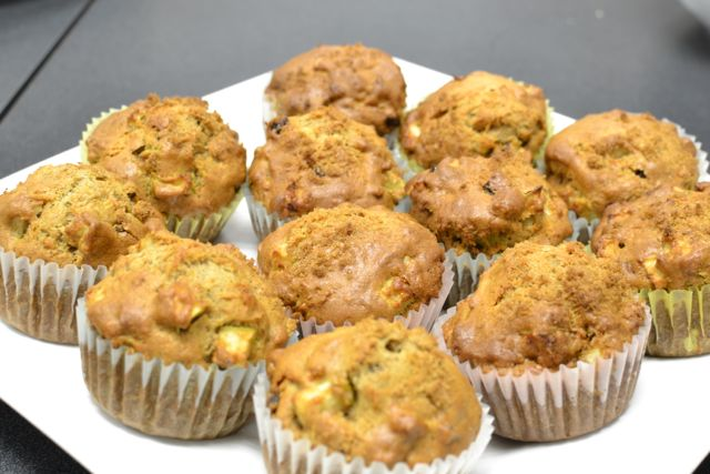 EsnicCooking_Apple WHole WHeat Muffins