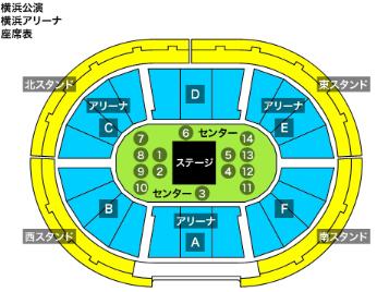 横浜座席表