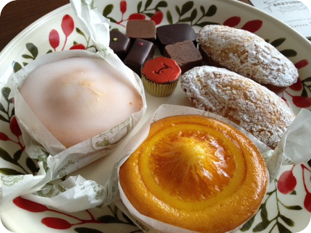 メゾンドショコラのチョコ・ブルトンヌの焼き菓子
