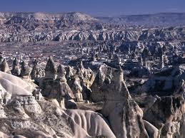 カッパドキア---その荒涼足る風景