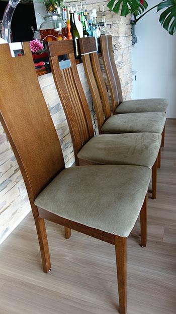 椅子張り替え完成