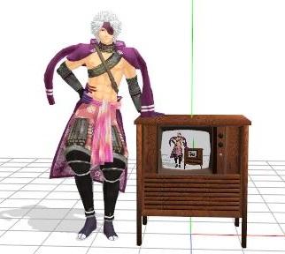 家具調テレビと元親さん