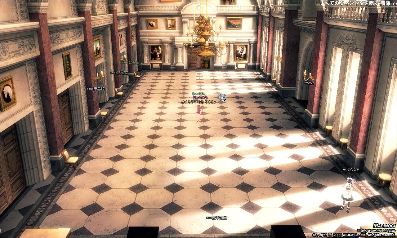 タラ王城2F-グレートホール