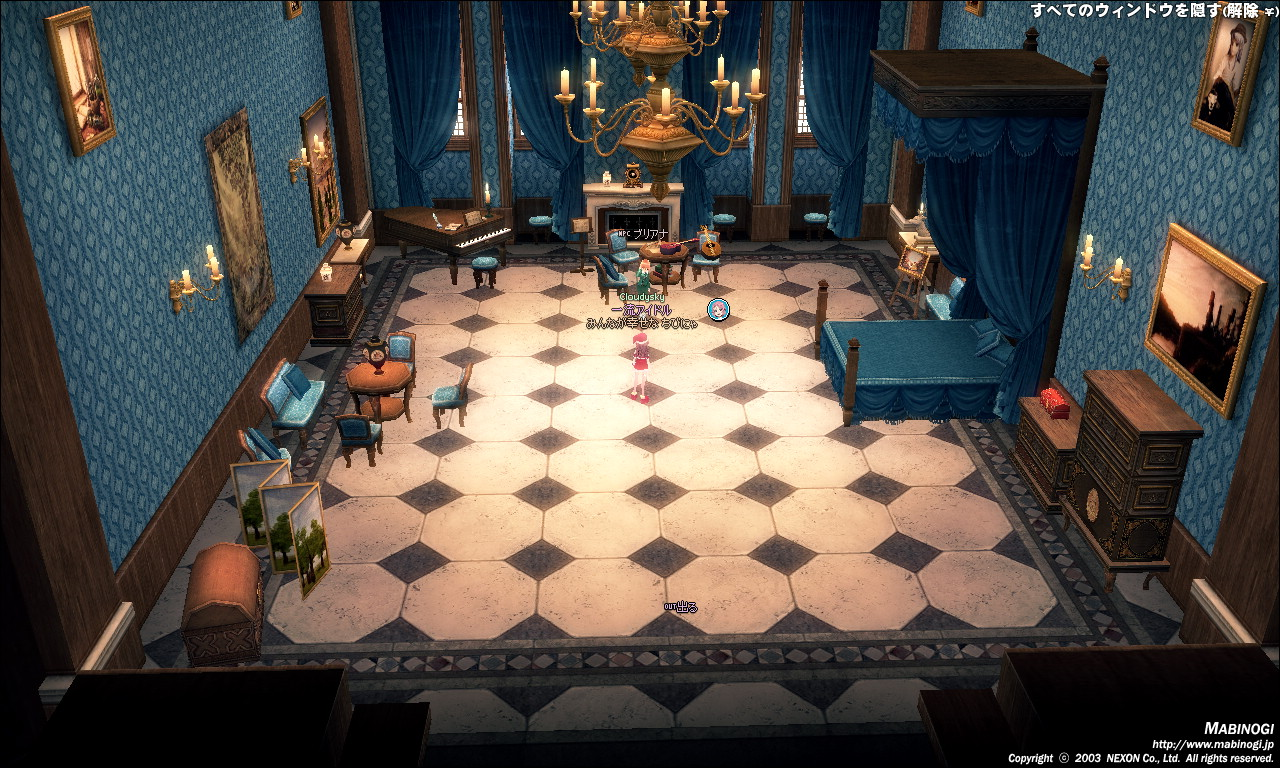 タラ王城2F-音楽室