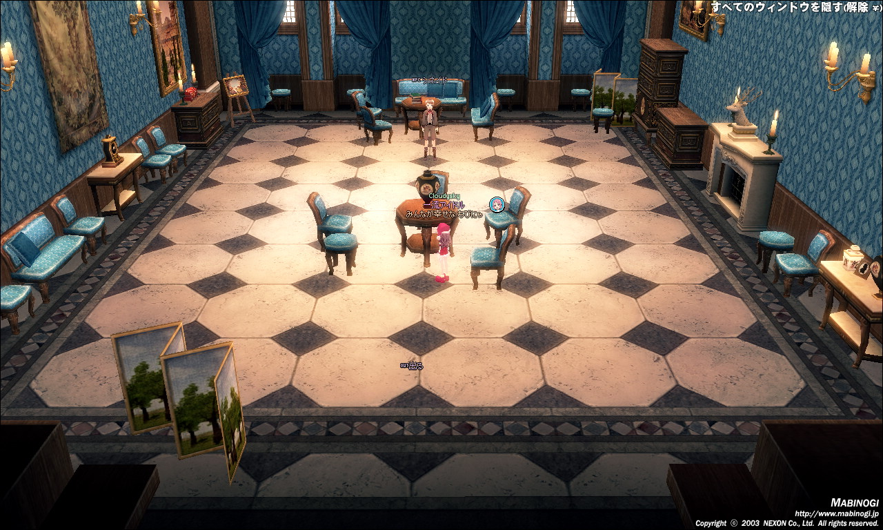 タラ王城2F-接見室