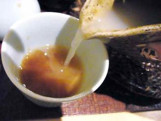 12-10-18 蕎麦湯
