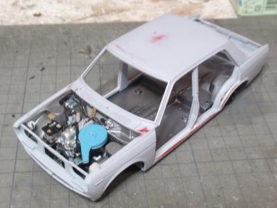エンジン搭載4