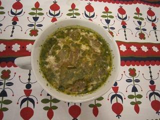 玉ネギおばさんの冬瓜スープ