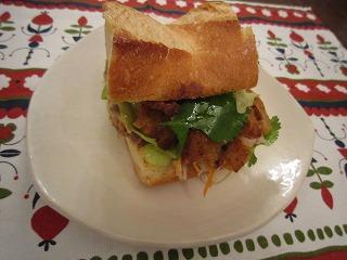 ベトナム風サンドイッチ2
