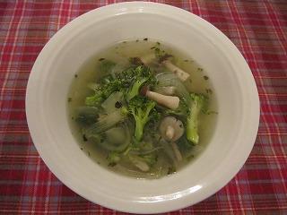 玉ネギおばさんのトスカーナのスープ