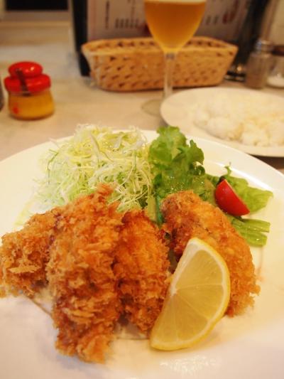 牡蠣フライ(こんがり亭)