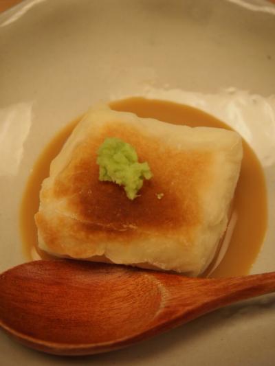 焼きゴマ豆腐(仁)