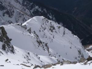 最後の雪稜