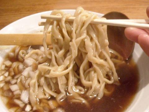どっぽ本町店・らーめん油なし 麺
