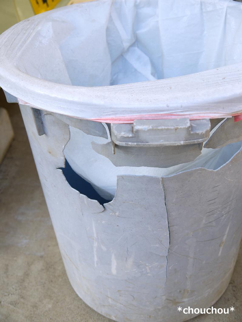 庭 ゴミ箱