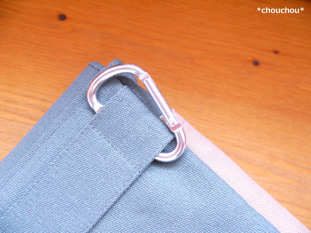 付けポケット カラナビ