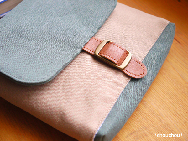 帆布 付けポケット ベルト2