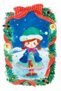 クリスマスポストカード1