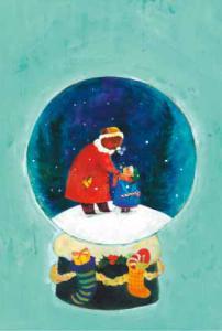 クリスマスポストカード4