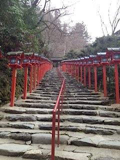 貴船神社 階段