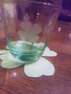 クローバーのグラス